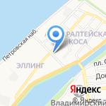 Лимончик на карте Астрахани