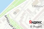 Схема проезда до компании Адвокатское бюро г. Астрахани в Астрахани