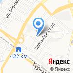 Детский сад №104 на карте Астрахани