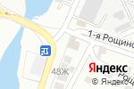 Схема проезда до компании Шинсервис в Астрахани
