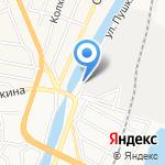 Век на карте Астрахани