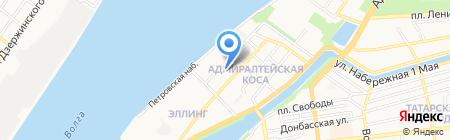 ЧУДОБИЛЕТ на карте Астрахани