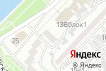 Схема проезда до компании English for U в Астрахани