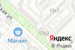 Схема проезда до компании Slim Club в Астрахани