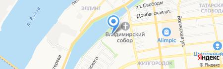Совет ветеранов пенсионеров войны труда на карте Астрахани