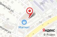 Схема проезда до компании Светлячок в Астрахани