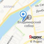 Администрация Советского района на карте Астрахани