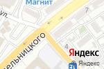 Схема проезда до компании Стоматолог Плюс в Астрахани