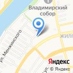Светлячок на карте Астрахани