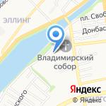 Советский районный суд на карте Астрахани