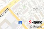 Схема проезда до компании Дива в Астрахани