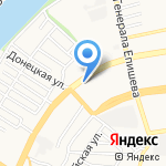 Ирис на карте Астрахани