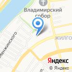 Гимназия №4 на карте Астрахани