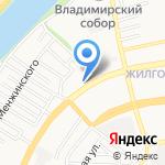 Офтальмологический кабинет на карте Астрахани