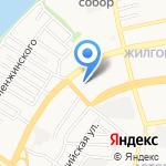 Дива на карте Астрахани