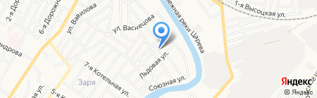 Лютуф на карте Астрахани