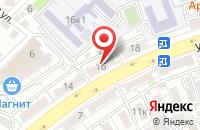 Схема проезда до компании Советский спортивно-технический клуб в Астрахани
