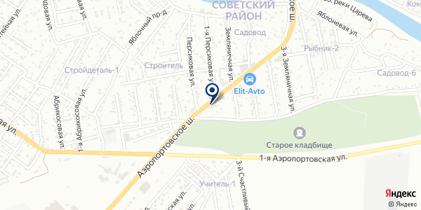 Чеширский кот на карте Астрахани