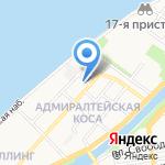Эллинг на карте Астрахани