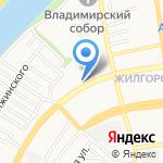 Советский спортивно-технический клуб на карте Астрахани