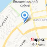Тамико на карте Астрахани