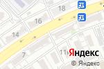 Схема проезда до компании Акварель в Астрахани