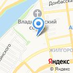Наримановский на карте Астрахани