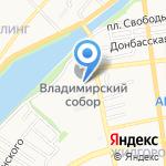 Квартал Сервис на карте Астрахани