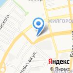 Дом ремёсел на карте Астрахани