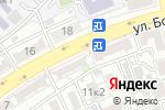 Схема проезда до компании Финские краски в Астрахани