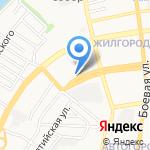 Колледж жилищно-коммунального хозяйства на карте Астрахани