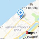 Лакор на карте Астрахани