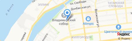 Leruss на карте Астрахани