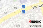 Схема проезда до компании Арсенал-Авто в Астрахани