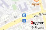 Схема проезда до компании Crazy Dog в Астрахани