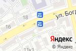 Схема проезда до компании Юлия в Астрахани