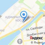 Алеся на карте Астрахани