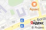 Схема проезда до компании Средняя общеобразовательная школа №59 в Астрахани