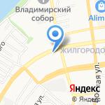 Солнышко на карте Астрахани