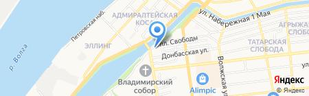 City Group на карте Астрахани