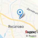 На перекрестке на карте Астрахани