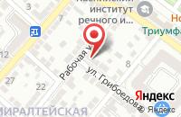 Схема проезда до компании Астрамоторс Авто в Астрахани
