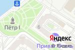 Схема проезда до компании Петр I в Астрахани