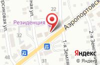 Схема проезда до компании ПромСтройКонтроль в Астрахани