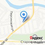 Сокол на карте Астрахани