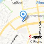 Волгоспас на карте Астрахани
