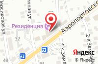 Схема проезда до компании На игле в Астрахани