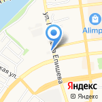 Аракс на карте Астрахани