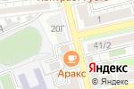 Схема проезда до компании Астрахань-Ортин.рф в Астрахани