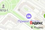 Схема проезда до компании Юридическая Бизнес Коллегия в Астрахани